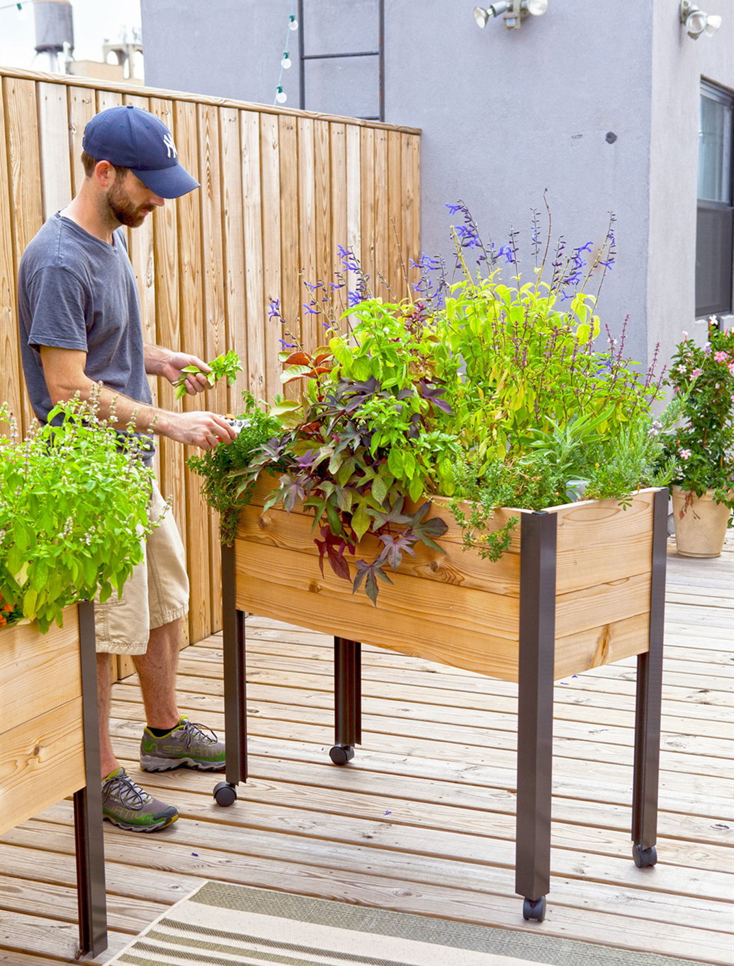 Benefits of Using the Standing Raised Bed Planter