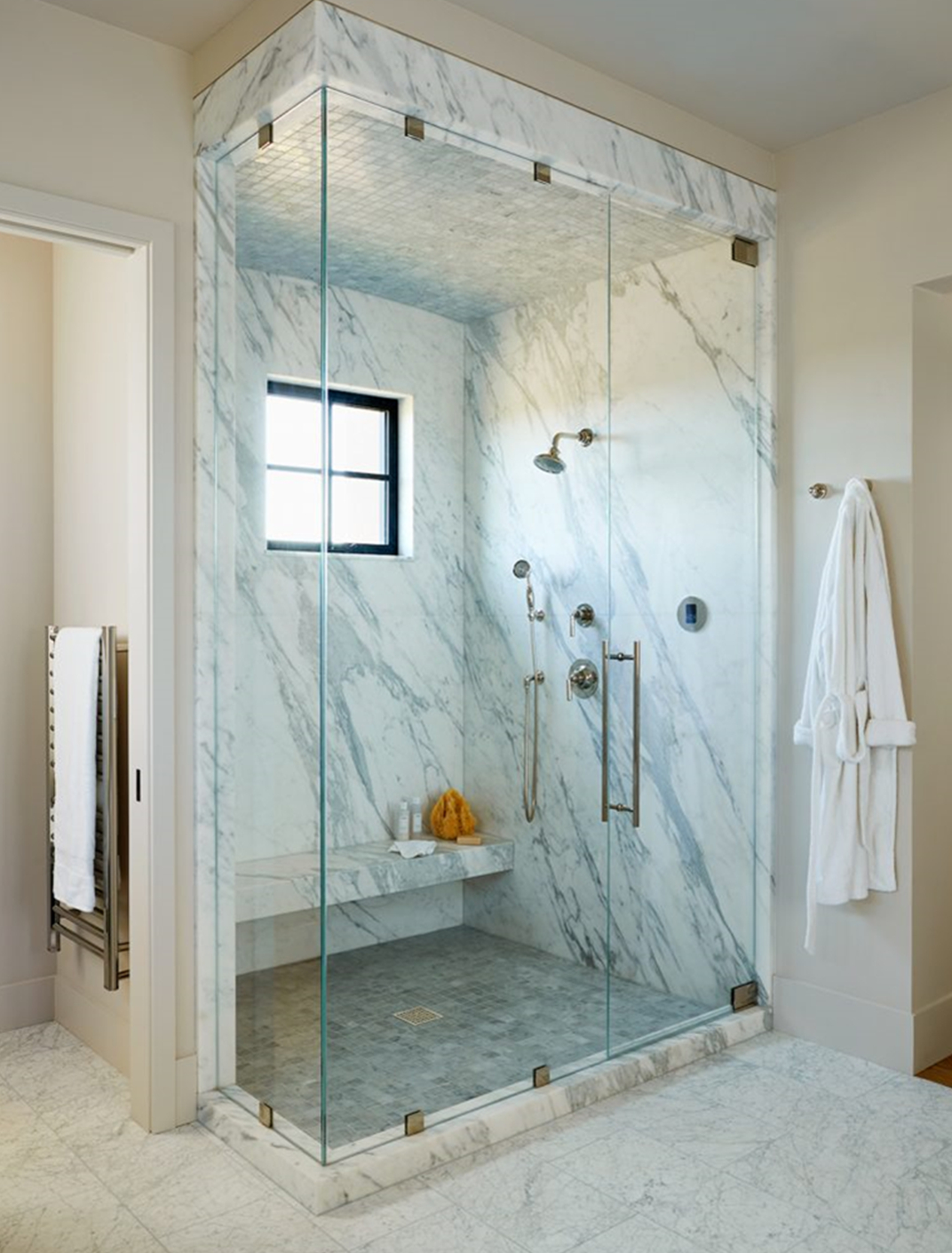 Glass Shower Room- The Best Bathroom Decoration Element.