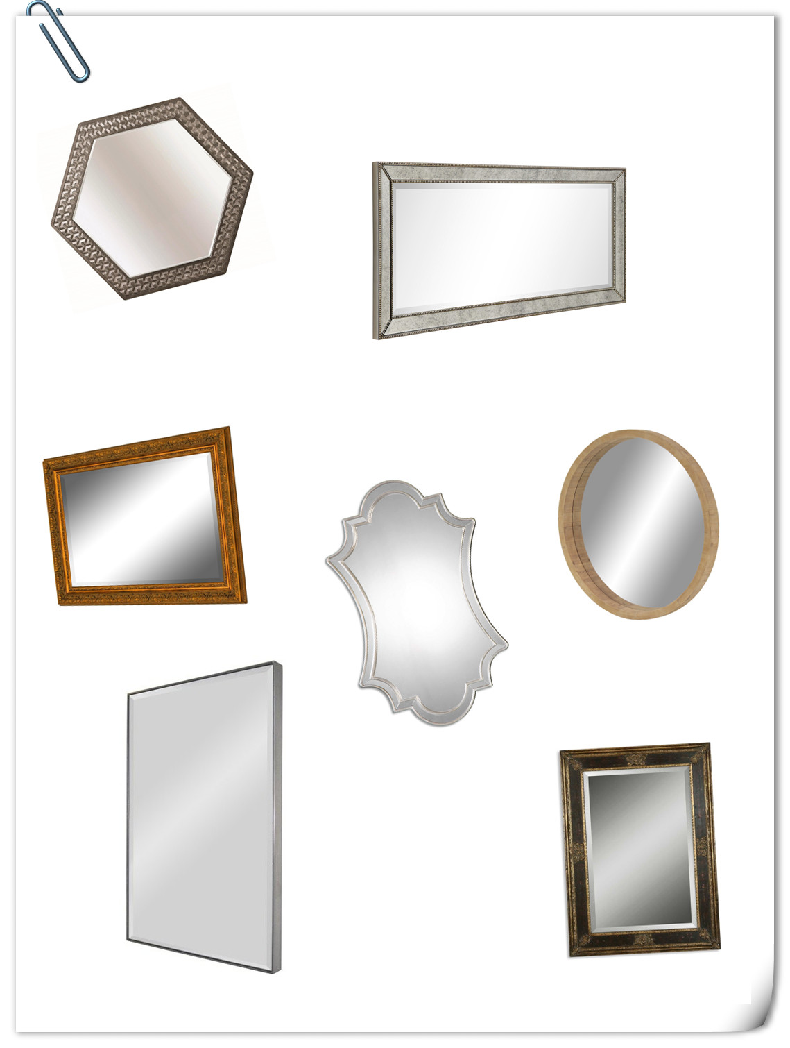 10 Wall Mirrors You Can Choose To Buy